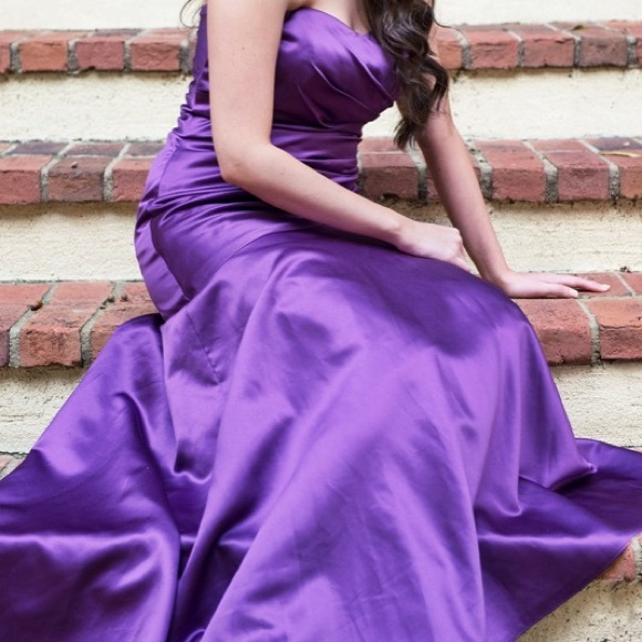 Image result for rich lilac gown